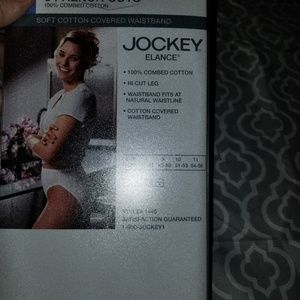 3 pair new in box jockey panties french cut sz 10